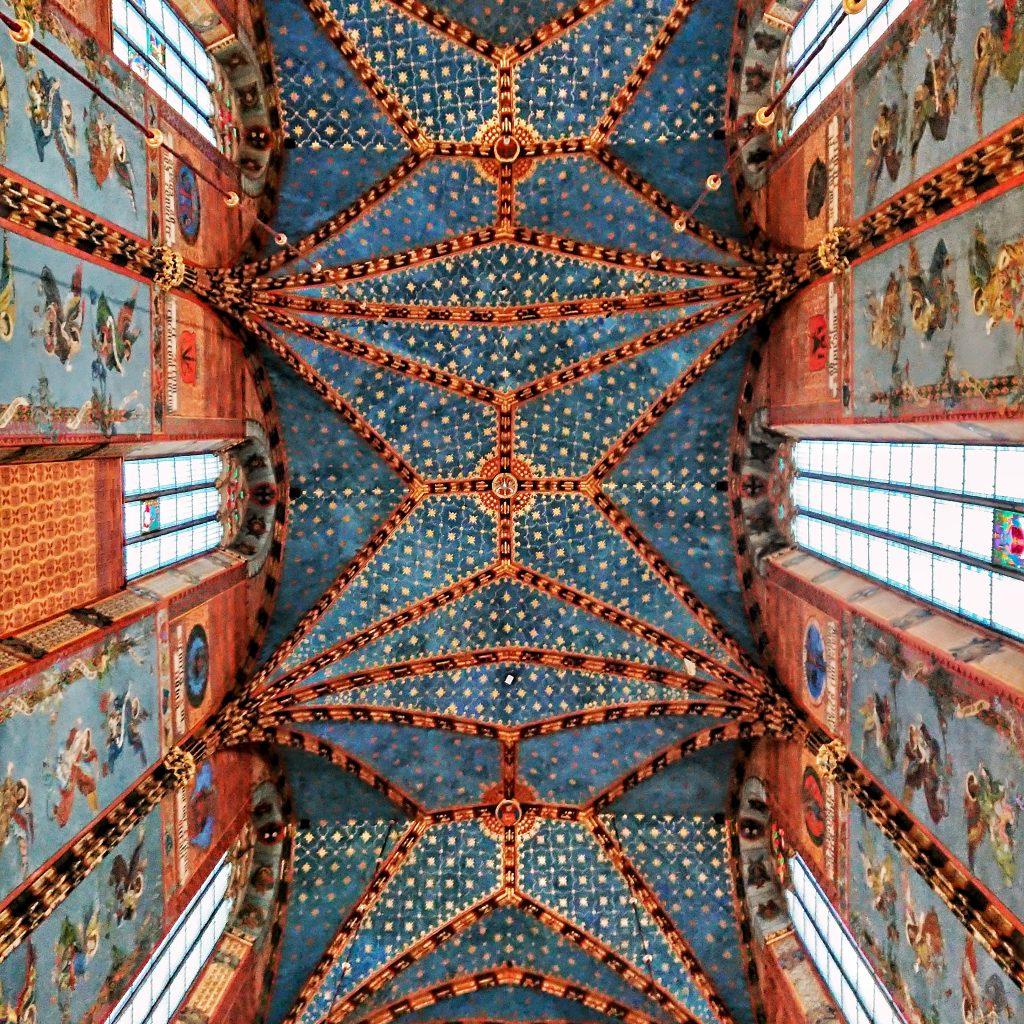 Kościół Mariacki - Polichromia Jana Matejki
