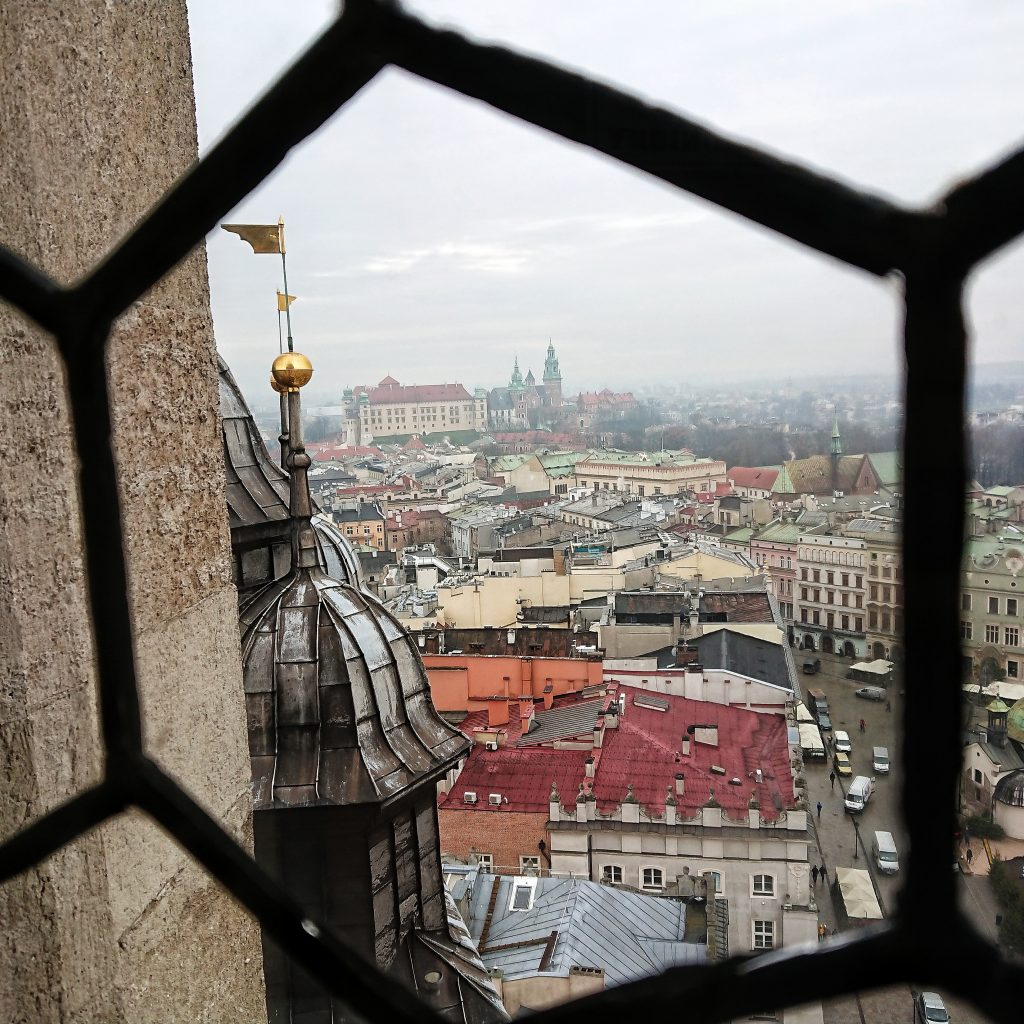Kościół Mariacki - widok z wieży