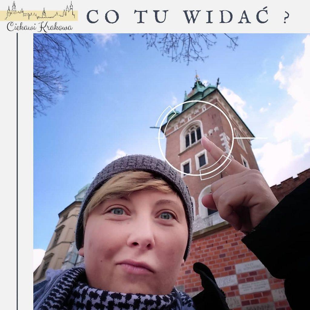Widok na wieżę Zygmuntowską