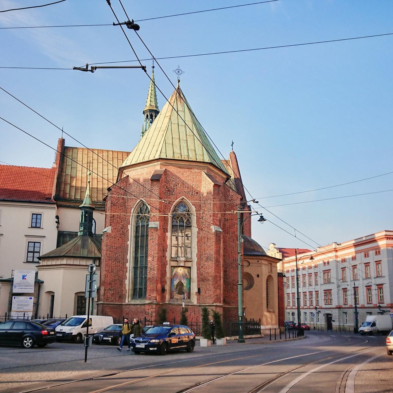 Kościoły Kraków - Franciszkanie.