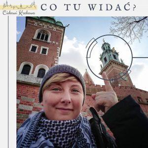 hełm wieży zegarowej na Wawelu